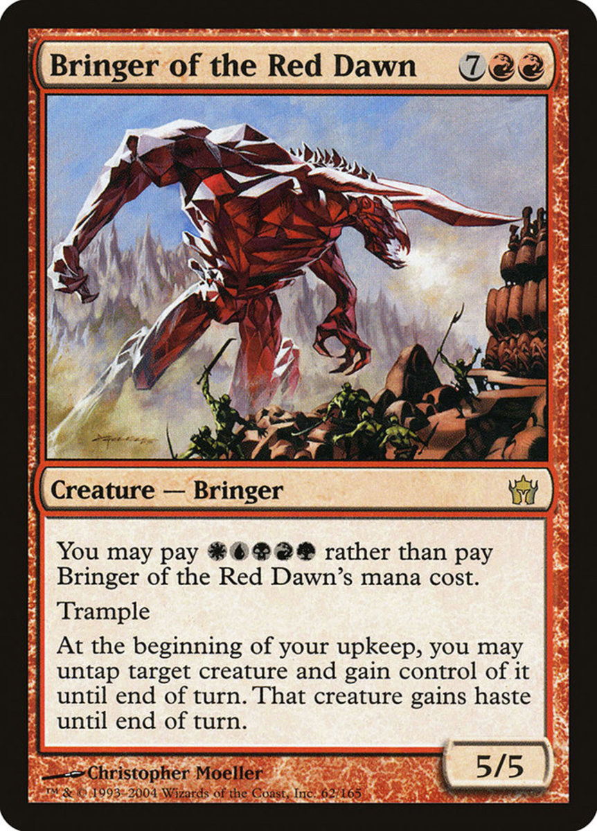 Bringer of the Red Dawn mtg