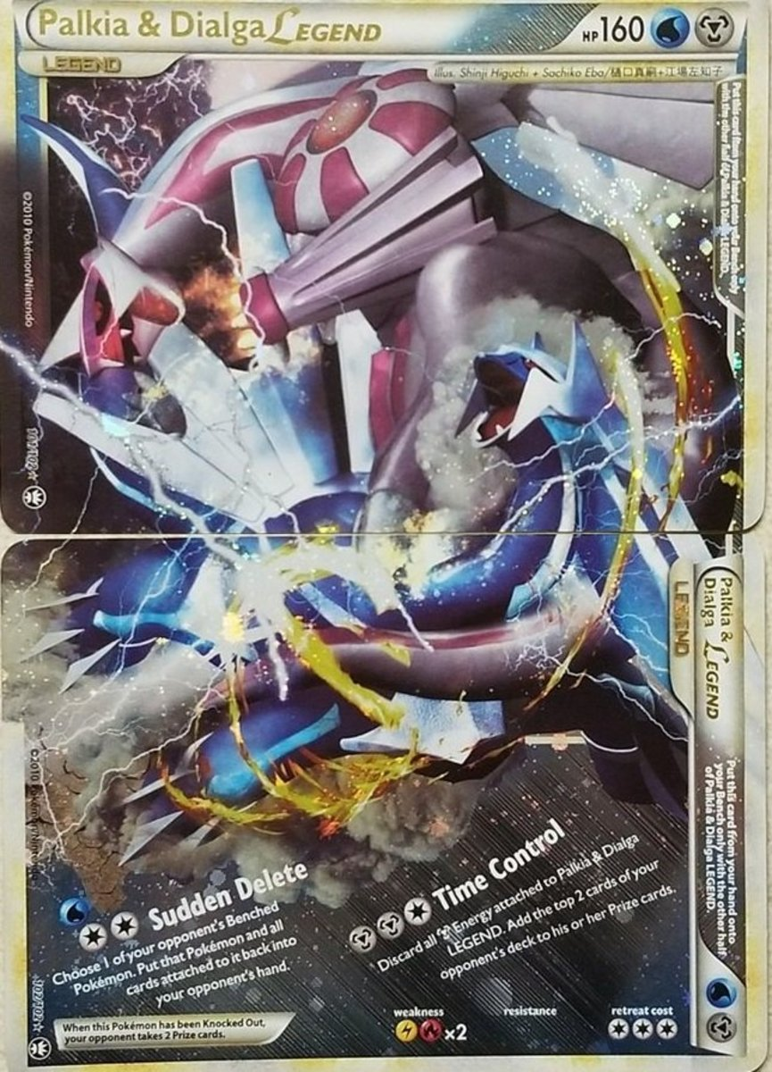 Top 9 Two-Sided Pokemon Legend Cards