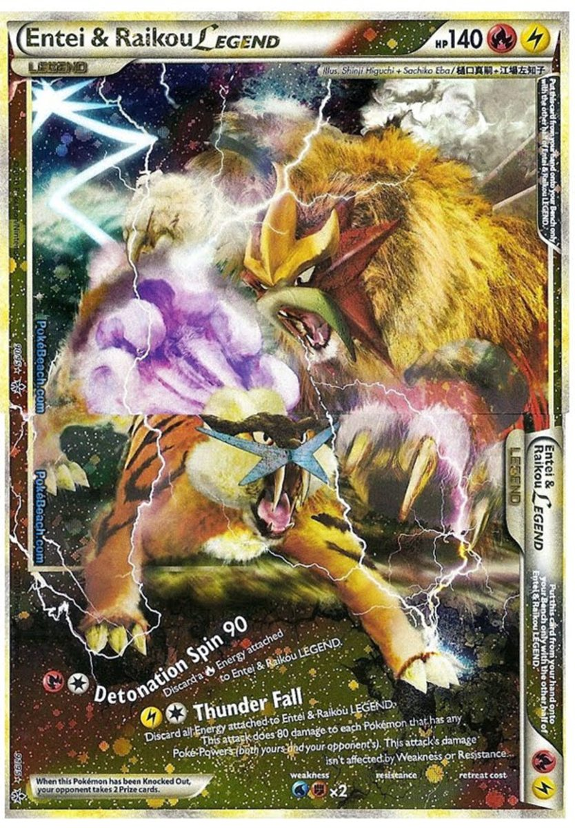 Entei and Raikou Legend