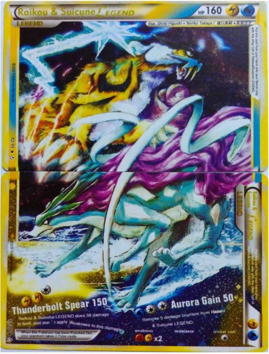 Raikou & Suicune Legend