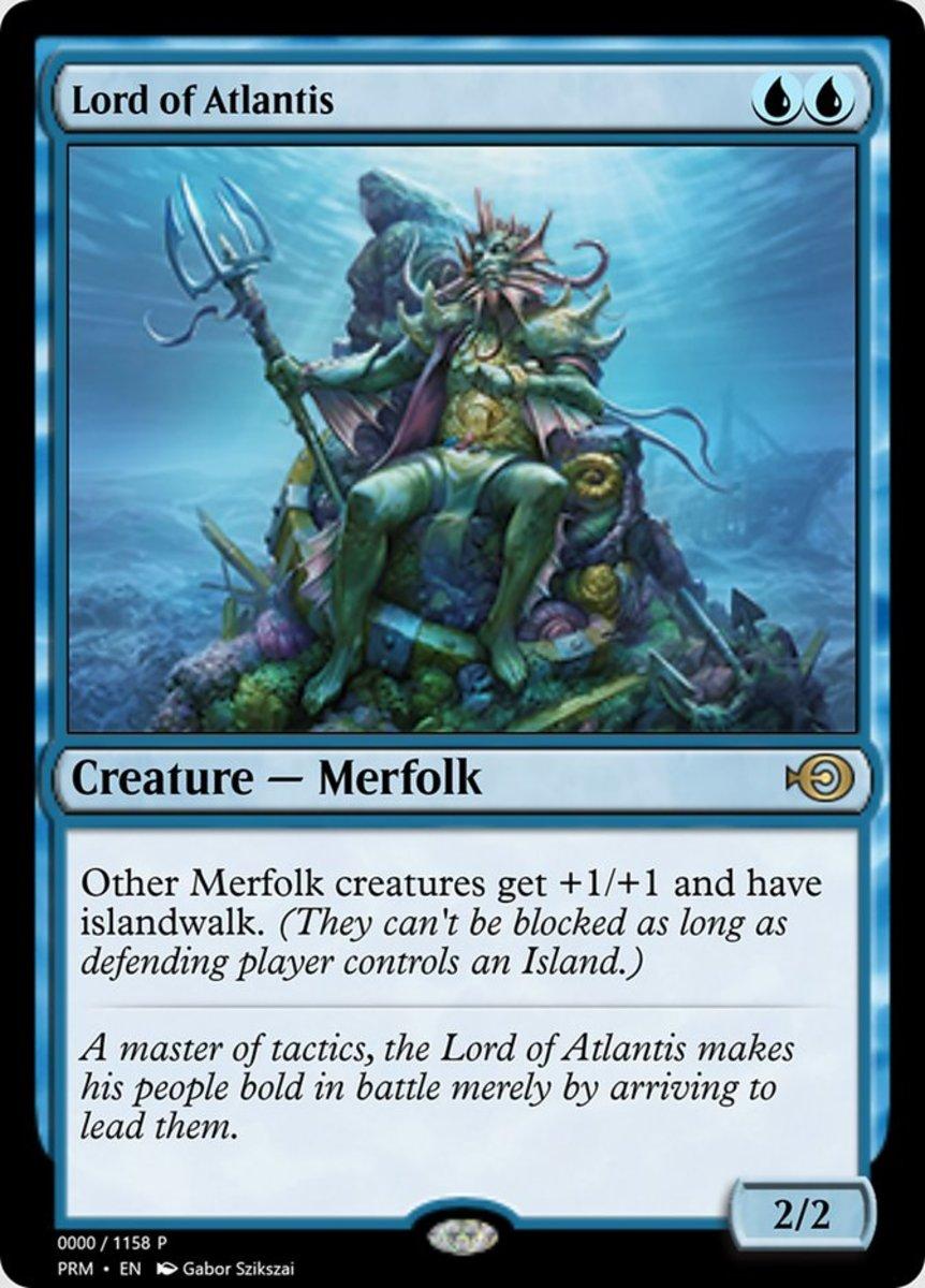 Lord of Atlantis mtg