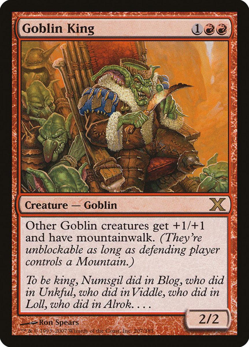 Goblin King mtg