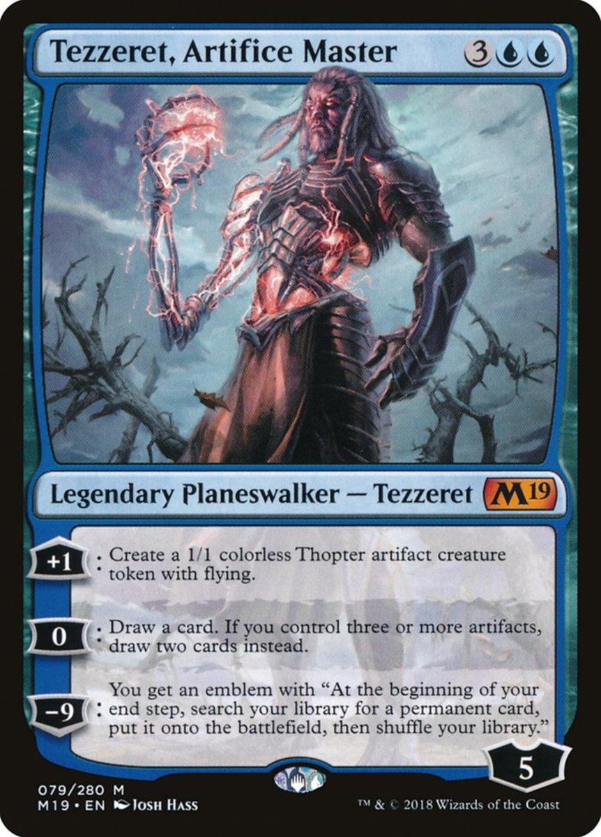 Tezzeret, Artifice Master mtg