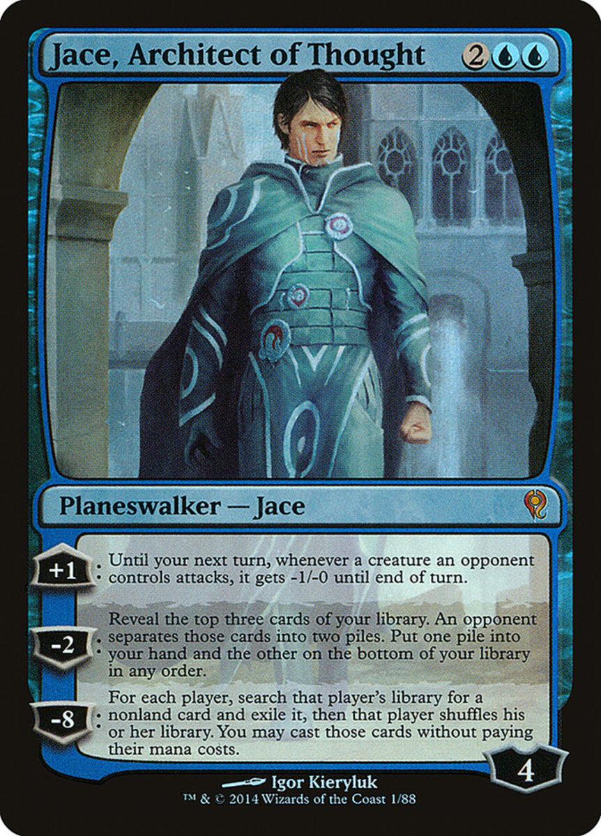 Jace, Architect of Thought mtg