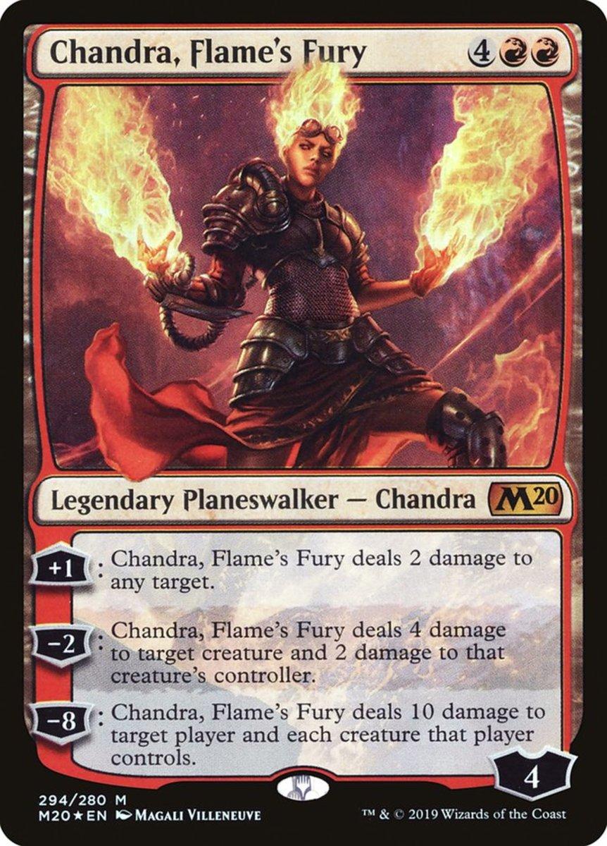 Chandra, Flame's Fury mtg