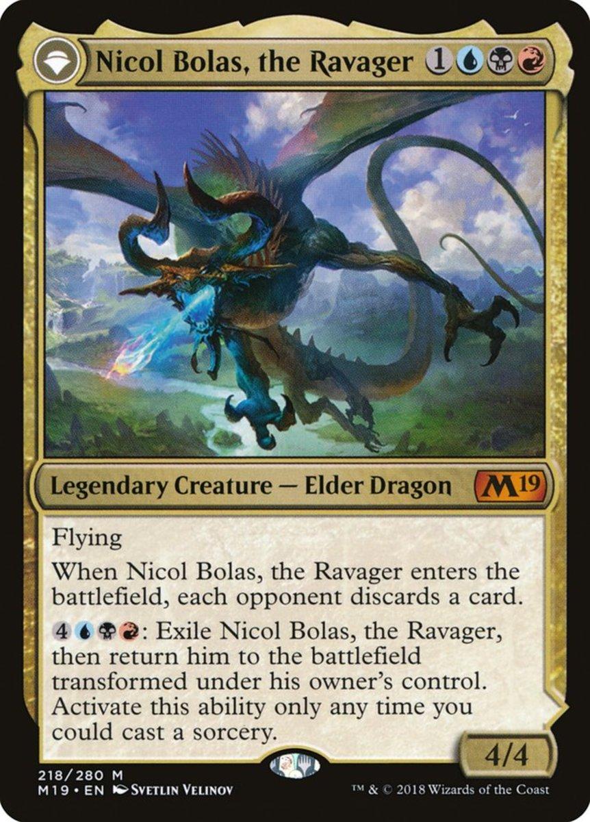 Nicol Bolas, the Ravager mtg
