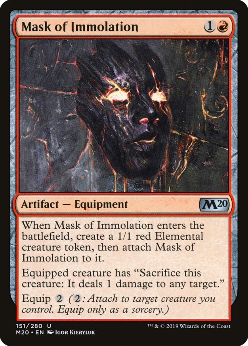 Mask of Immolation mtg