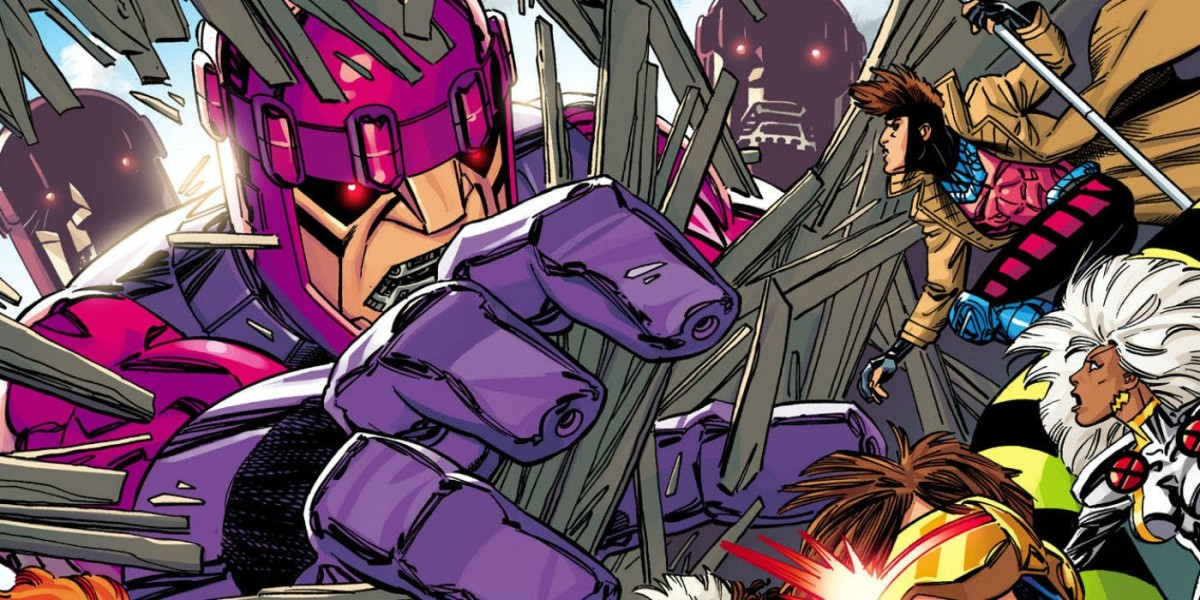 Sentinels - They're big. They're bad.  They're hunting mutants.