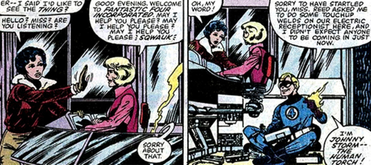 Roberta - The Fantastic Four's robot receptionist