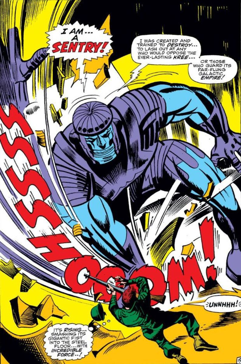 """Sentry"" in the Kree language translates to ""Do not disturb""."