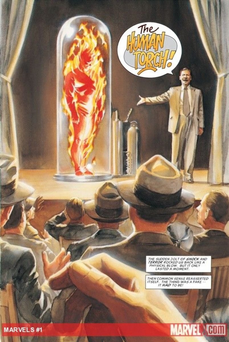Horton's Human Torch - Just add air