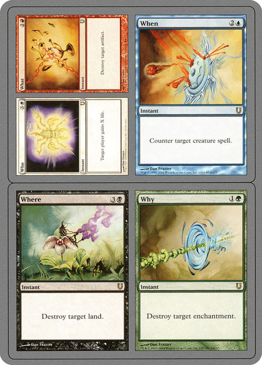 Who // What // When // Where // Why mtg