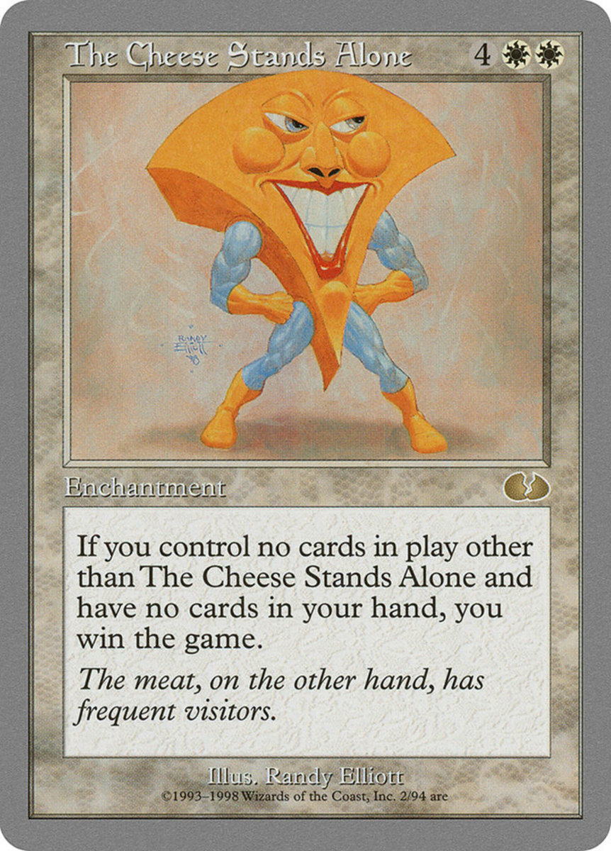 The Cheese Stands Alone mtg