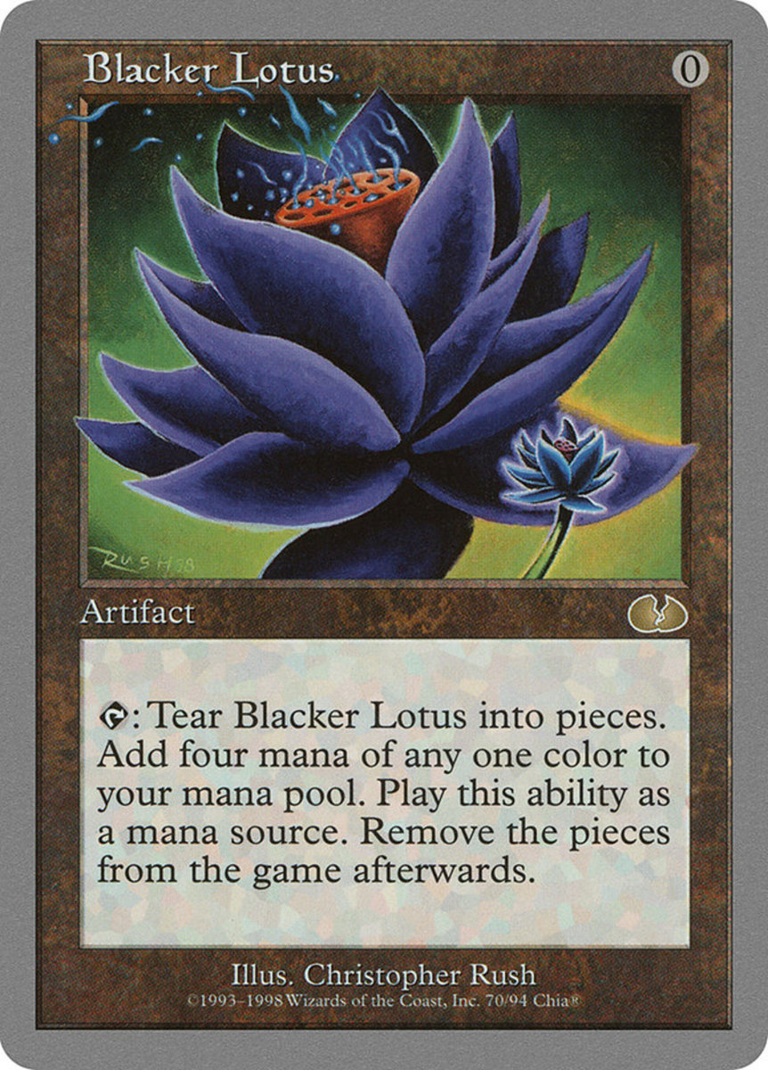Blacker Lotus mtg
