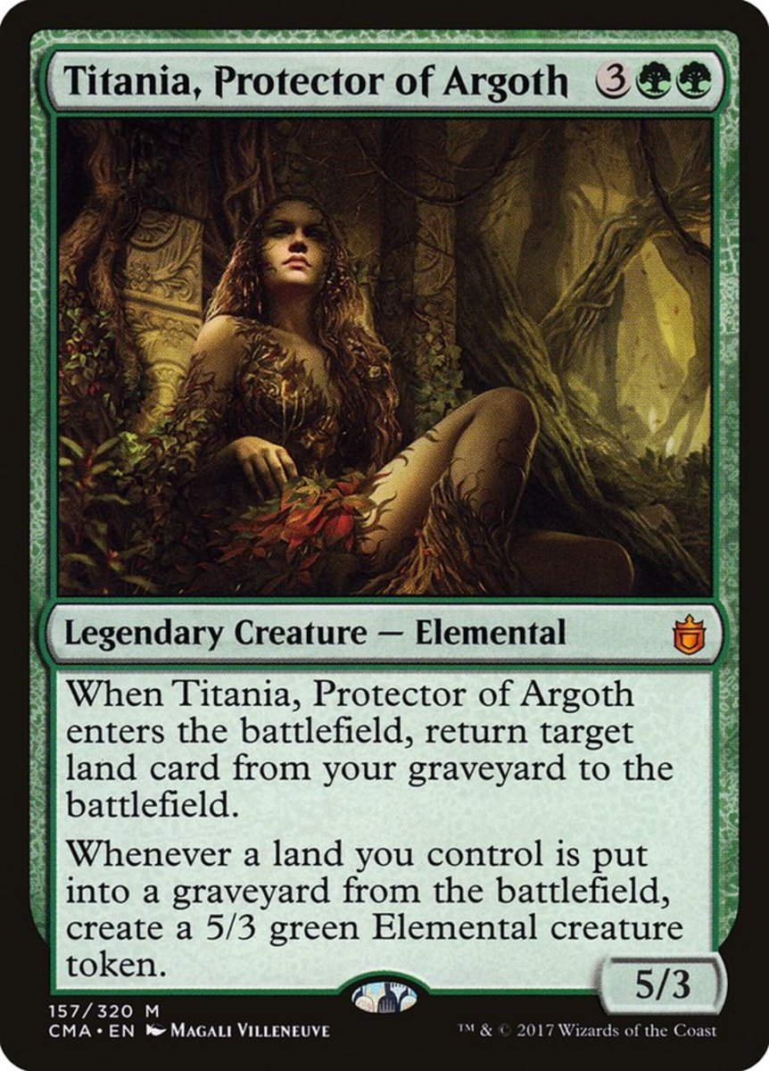 Titania, Protector of Argoth mtg