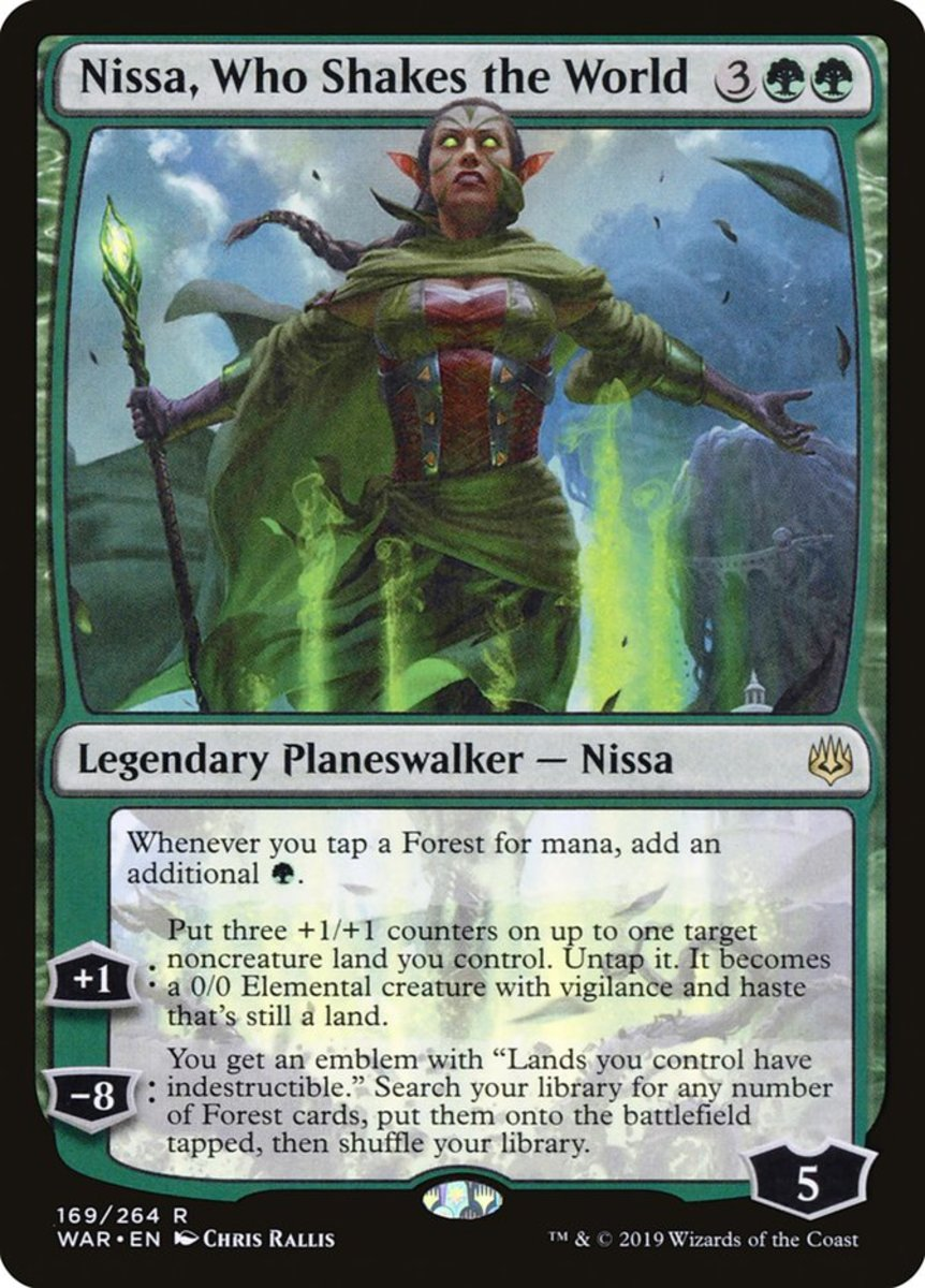 Nissa, Who Shakes the World mtg