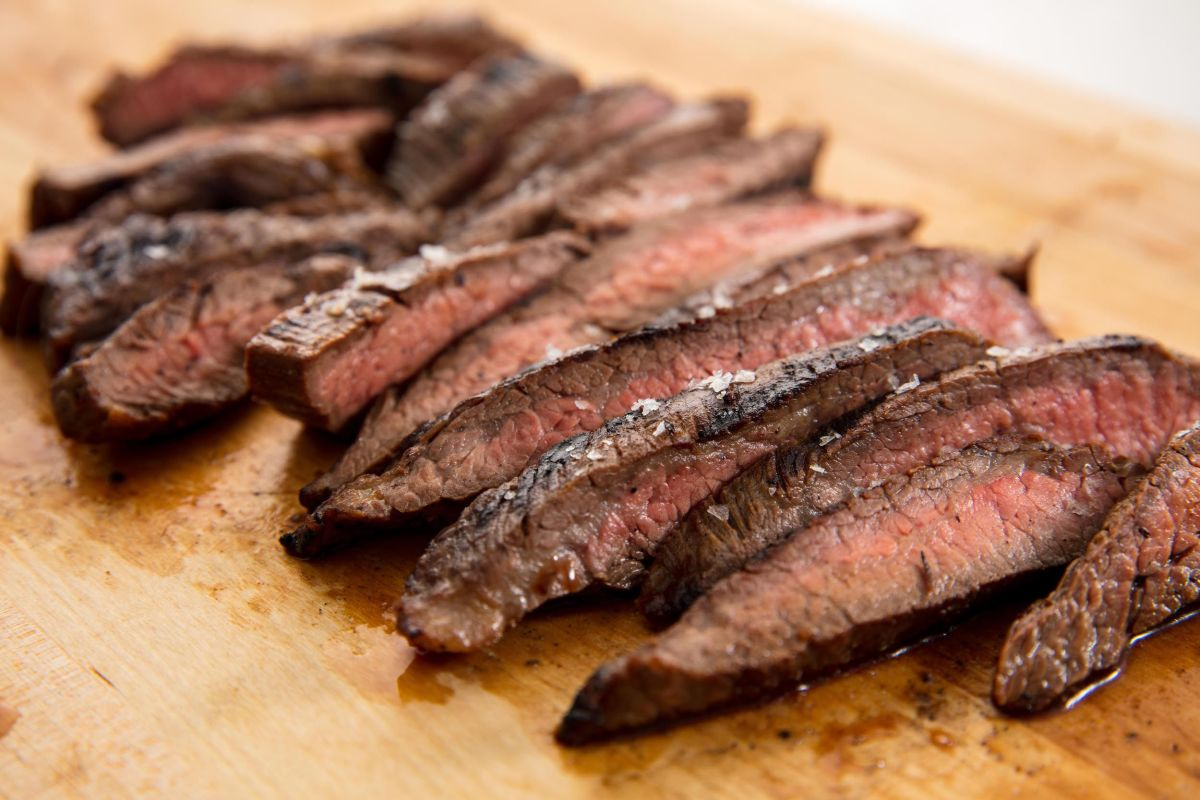 In 1996, flank steak was a real crowd-pleaser.