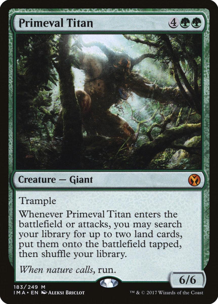 Primeval Titan mtg