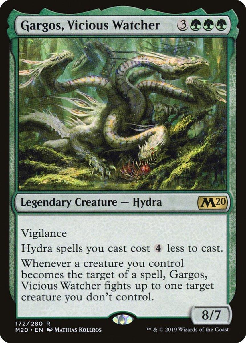Gargos, Vicious Watcher mtg