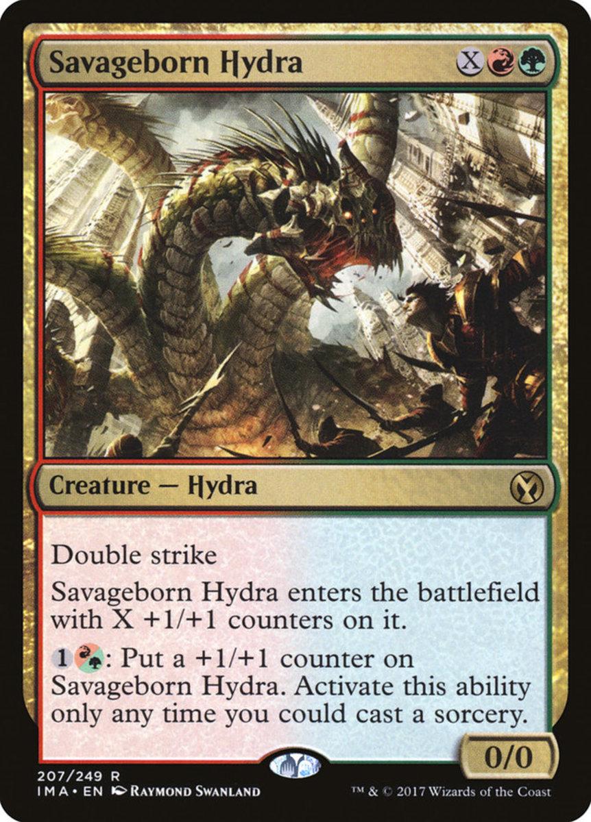 Savageborn Hydra mtg