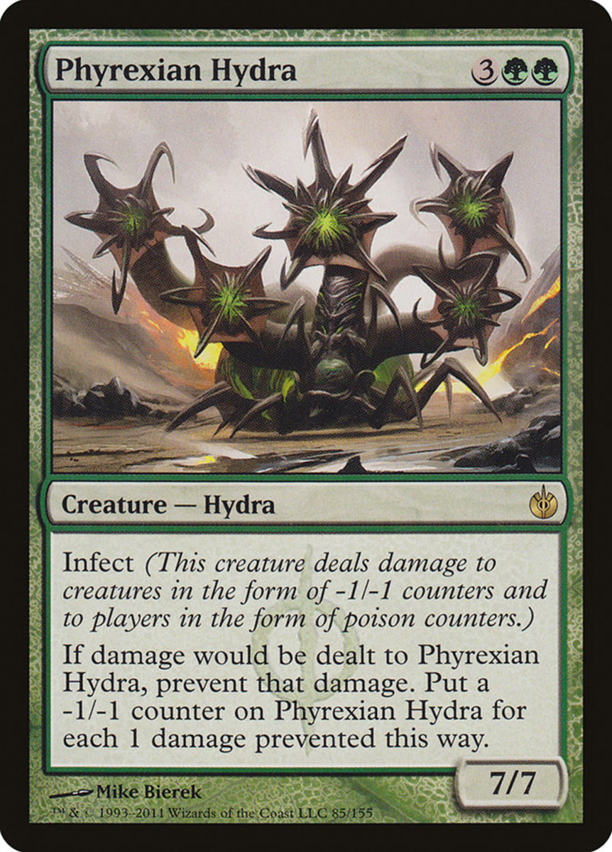 Phyrexian Hydra mtg