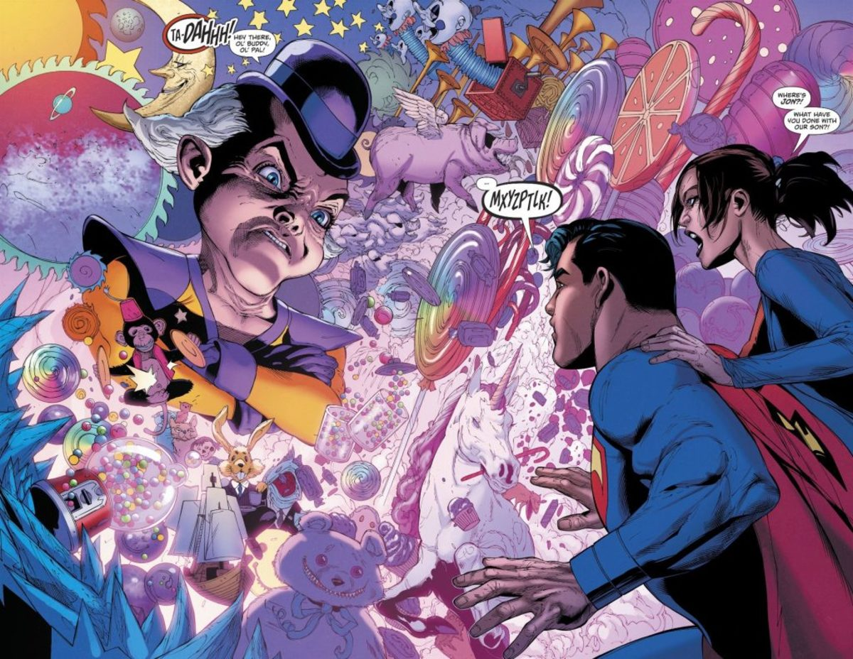 How every meeting Superman has with Mxyzptlk should go