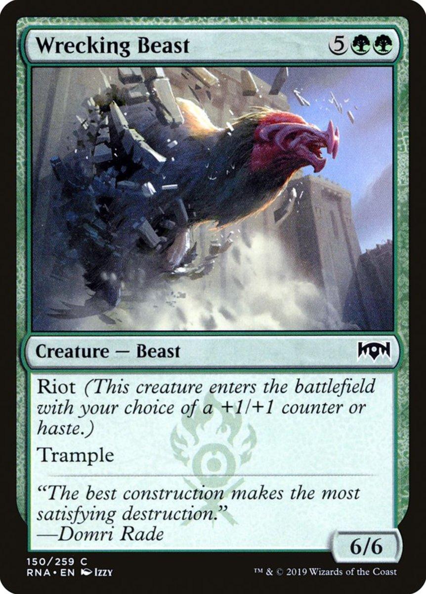 Wrecking Beast mtg