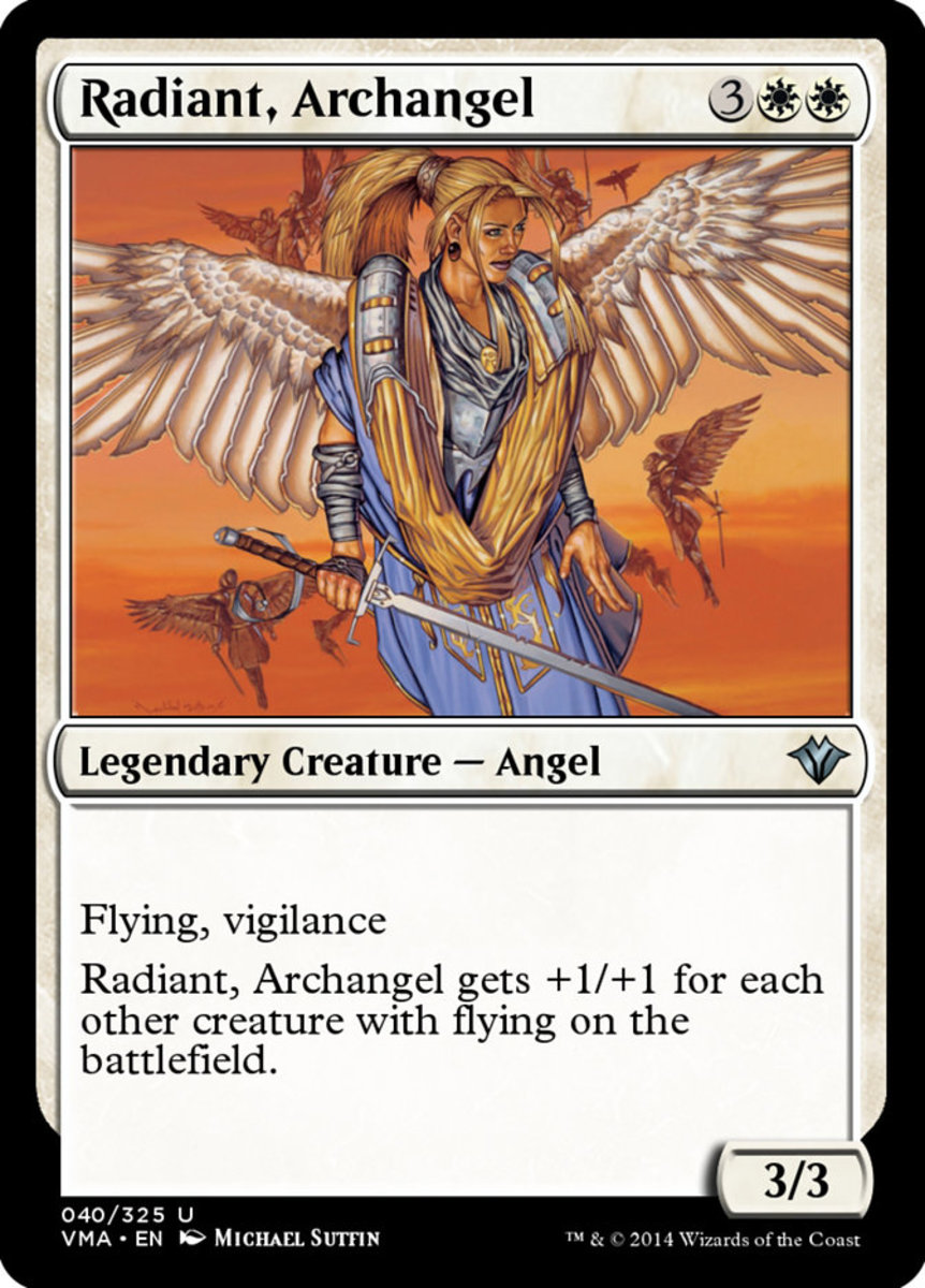 Radiant, Archangel mtg