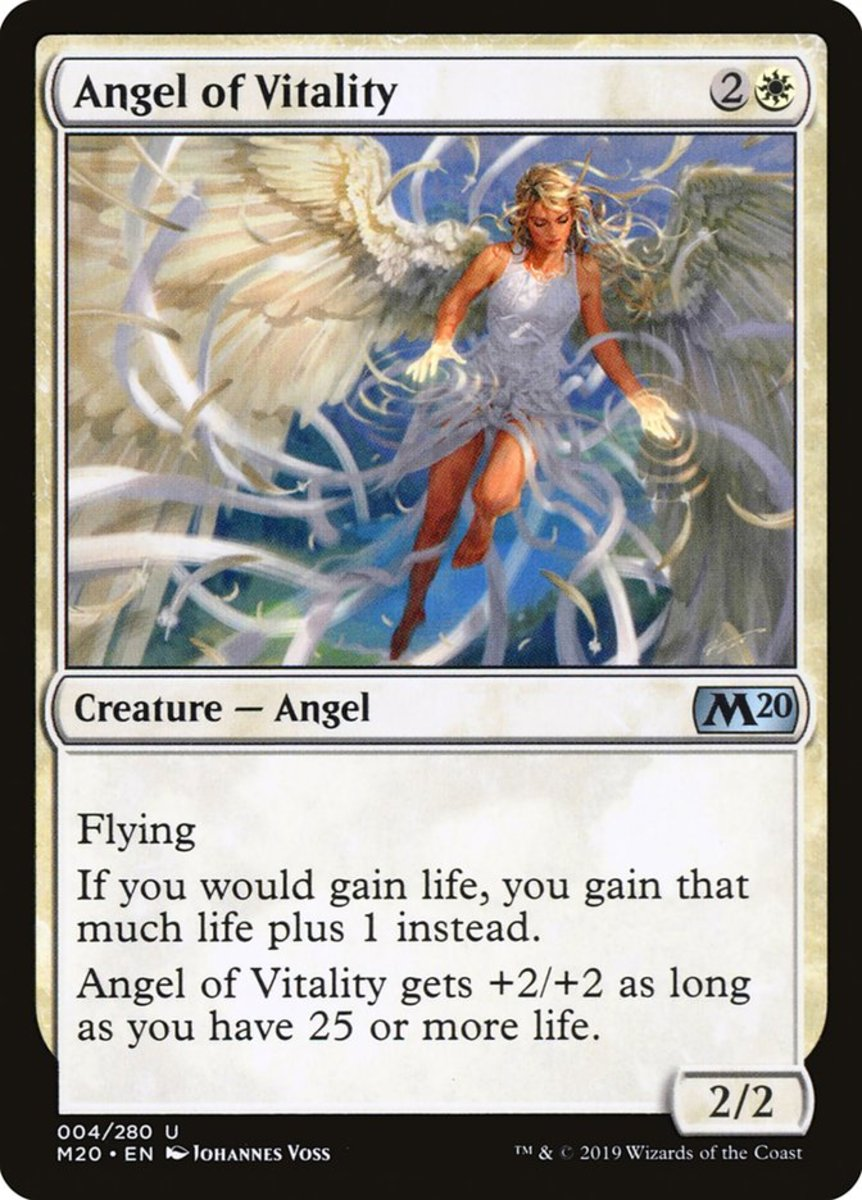 Angel of Vitality mtg