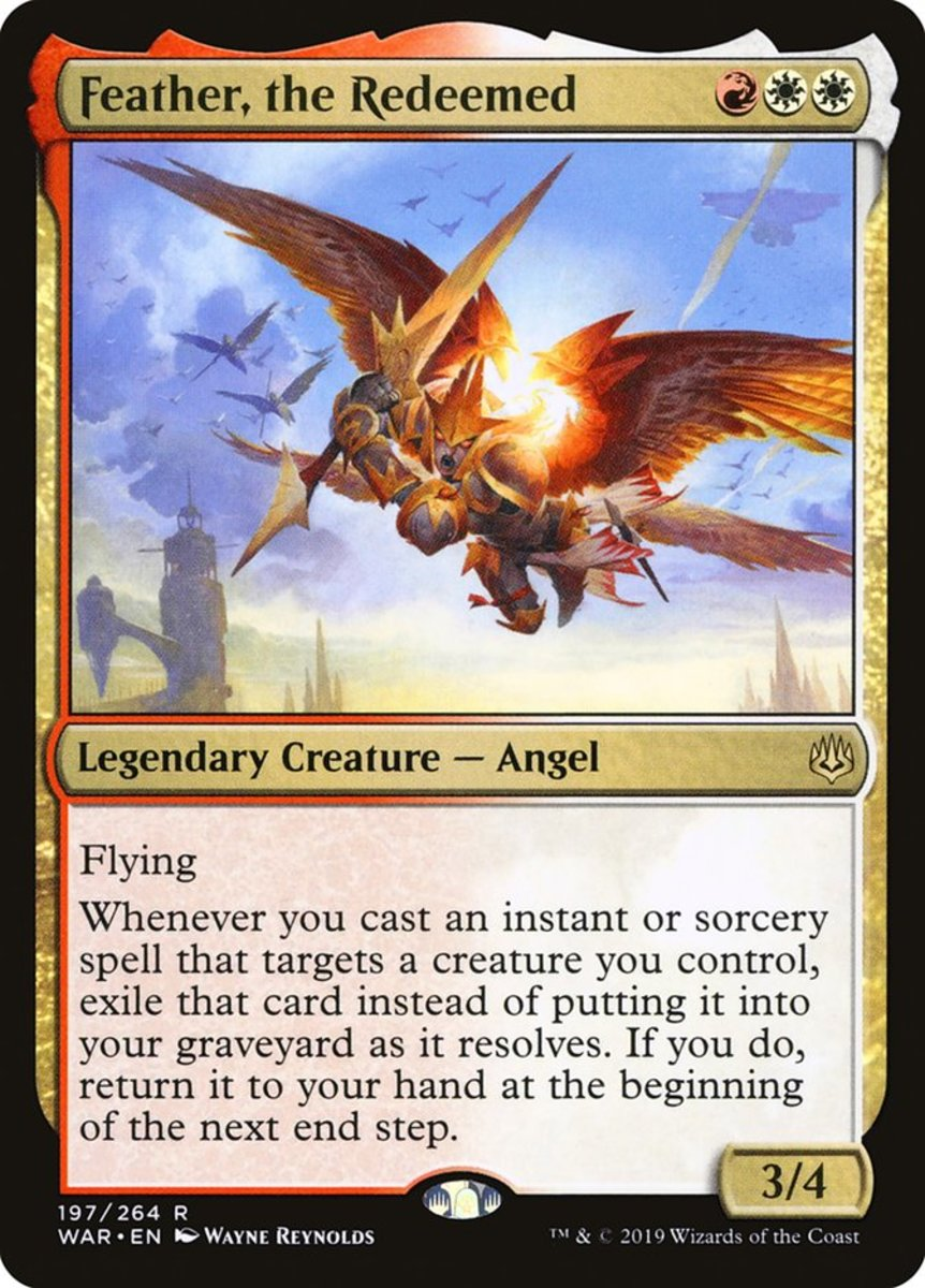 Feather, the Redeemed mtg
