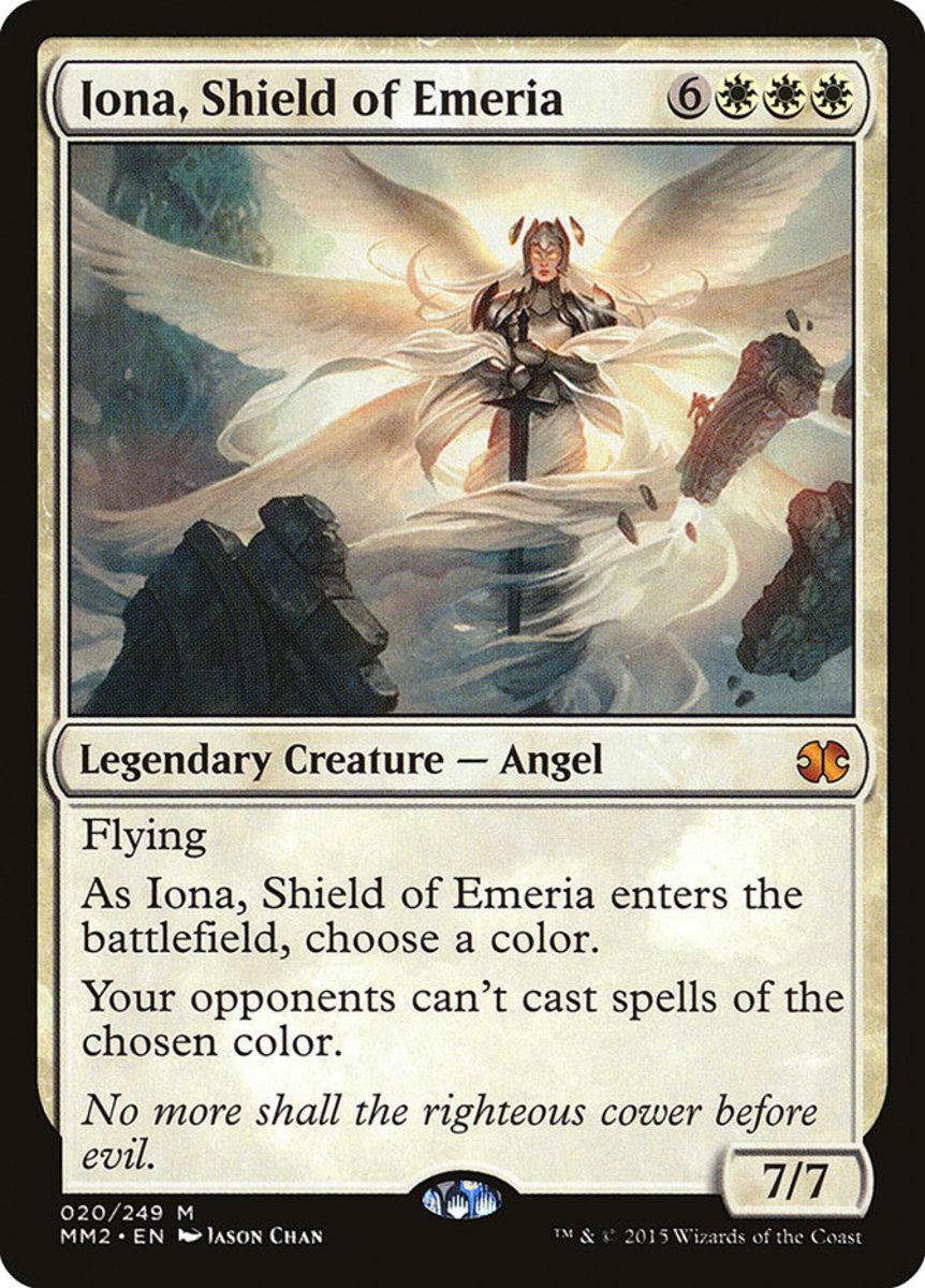 Iona, Shield of Emeria mtg