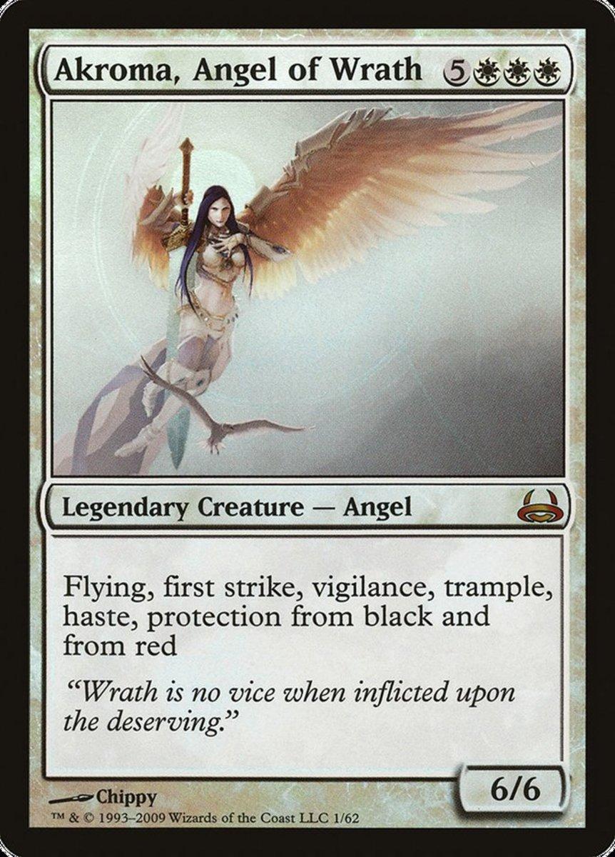 Akroma, Angel of Wrath mtg