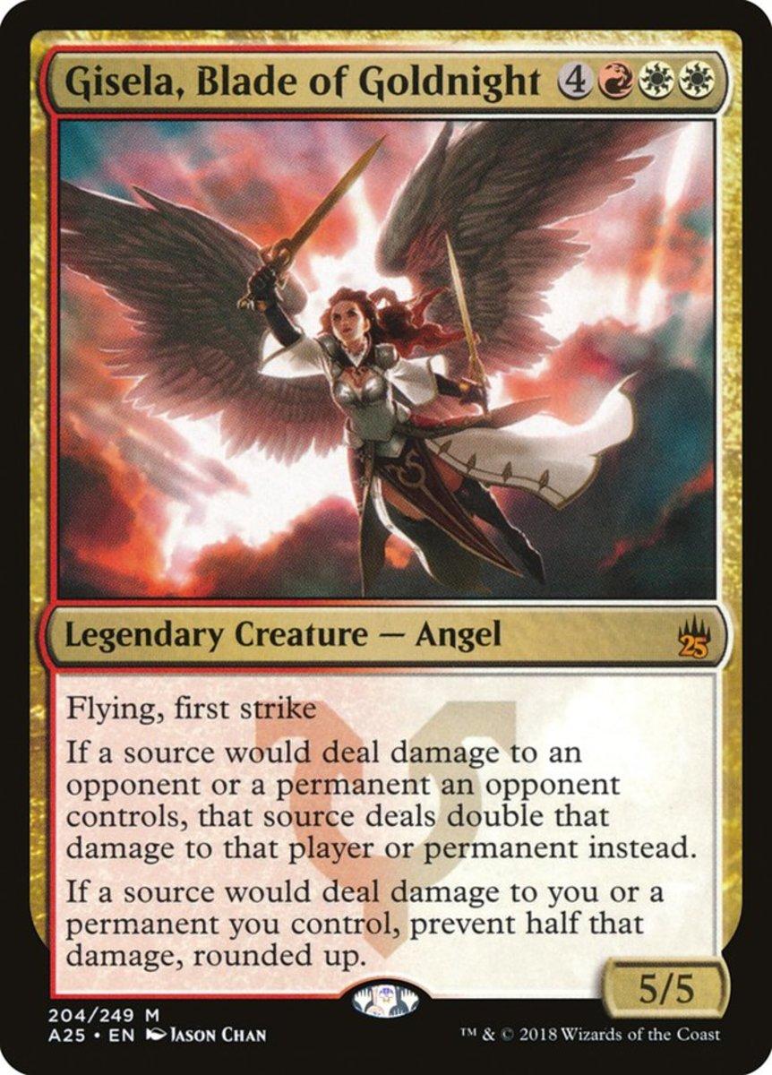 Gisela, Blade of Goldnight mtg