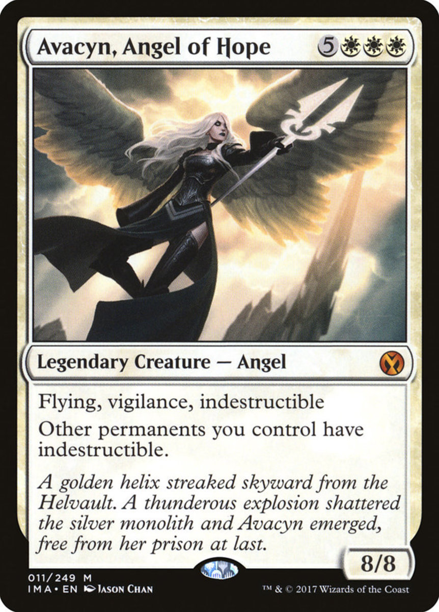 Avacyn, Angel of Hope mtg