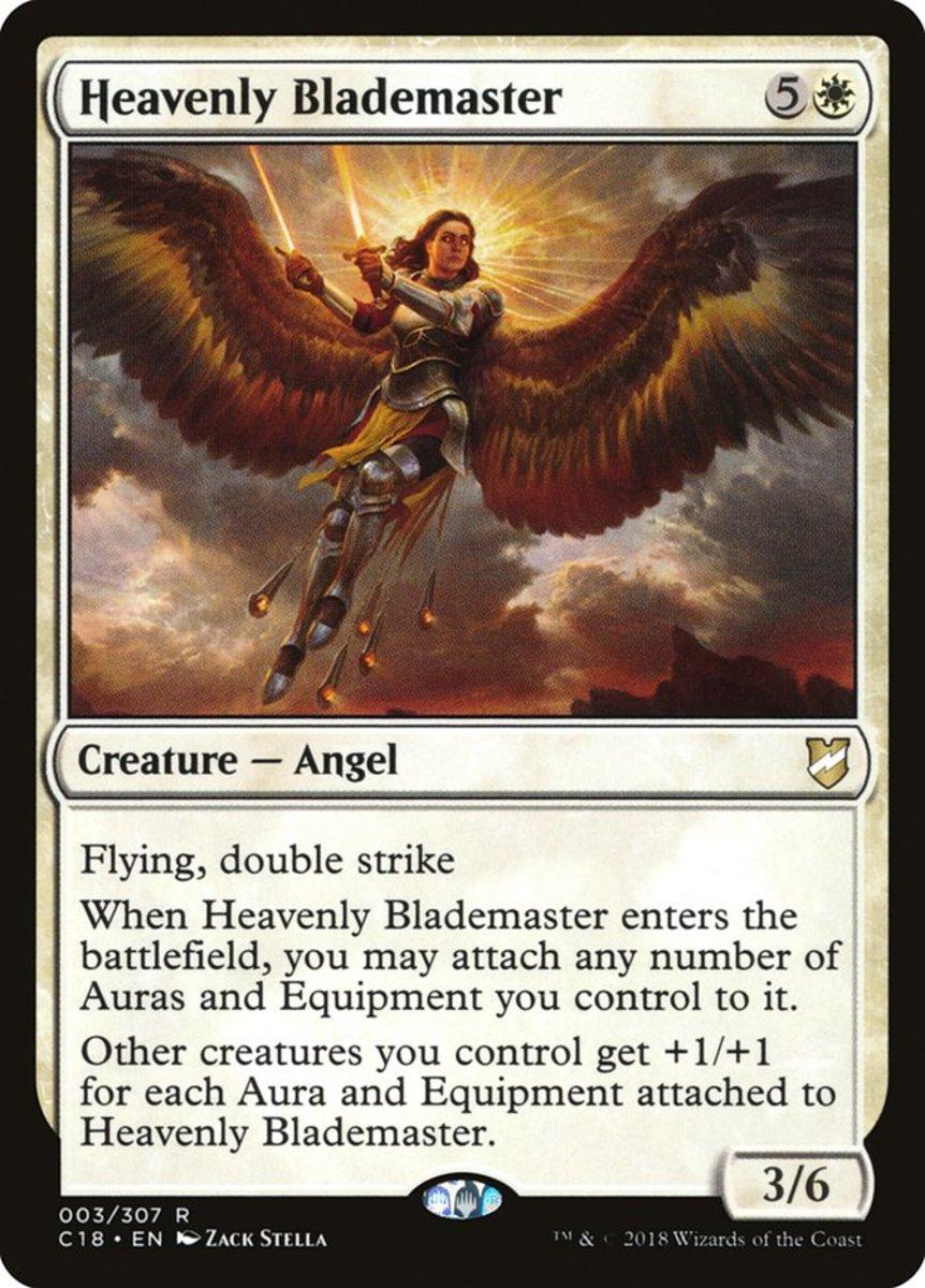 Heavenly Blademaster mtg
