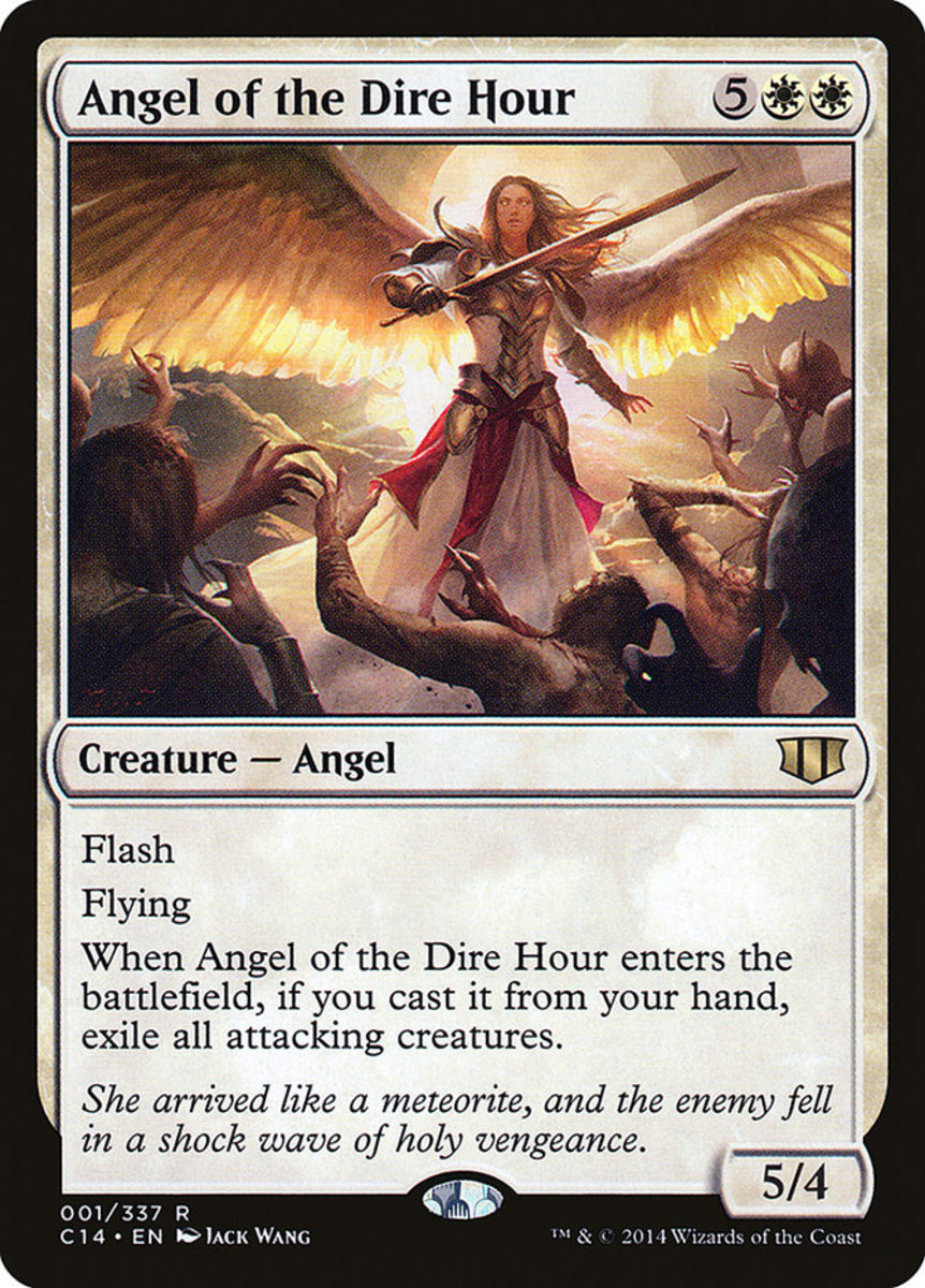 Angel of the Dire Hour mtg
