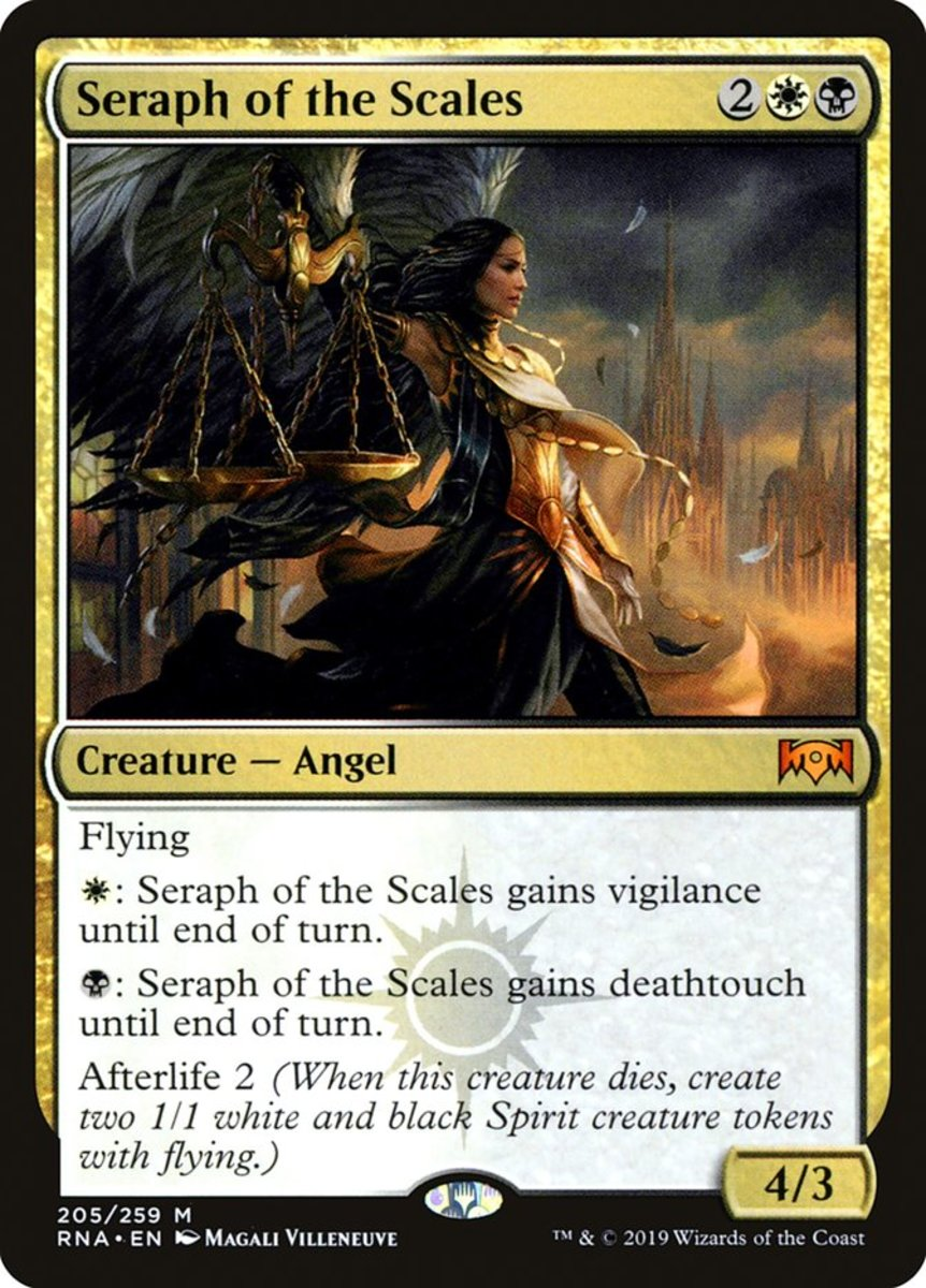 Seraph of the Scales mtg