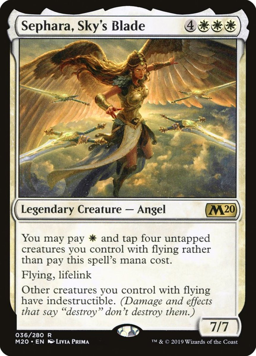 Sephara, Sky's Blade mtg