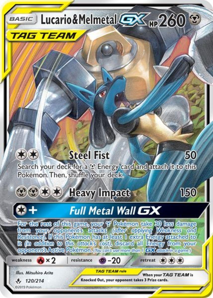 Lucario & Melmetal-GX