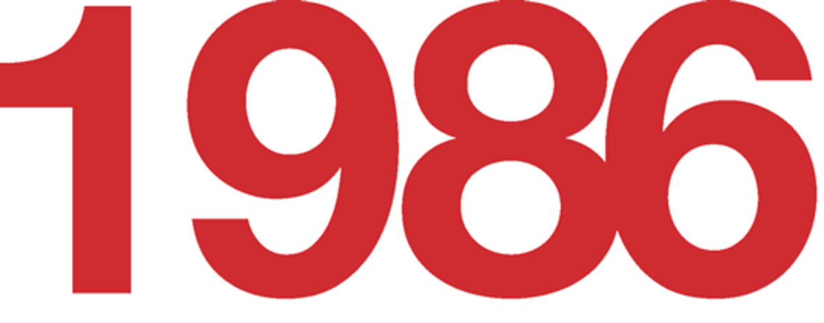 1986 Fun Facts, Trivia, and Events