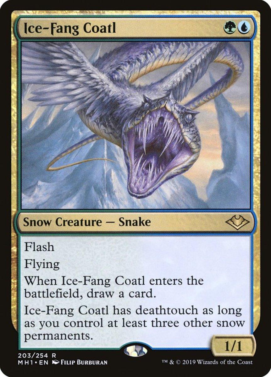 Ice-Fang Coatl mtg