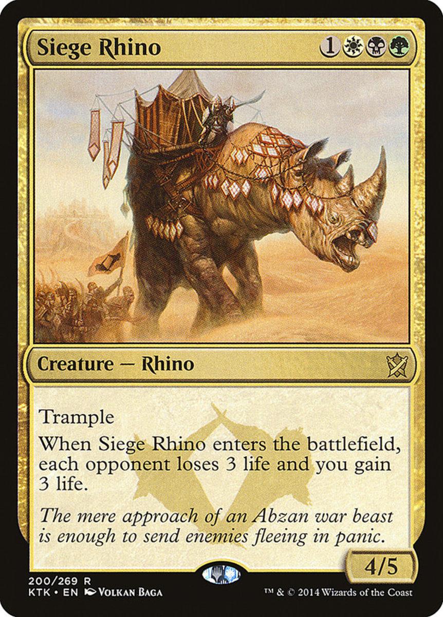 Siege Rhino mtg