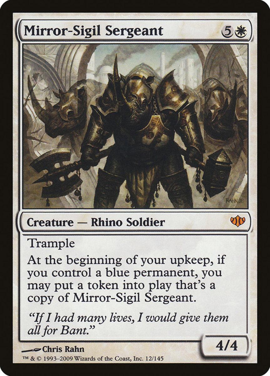Mirror-Sigil Sergeant mtg
