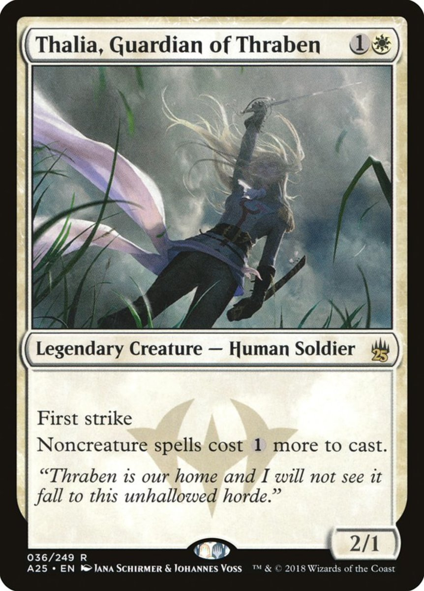 Thalia, Guardian of Thraben mtg