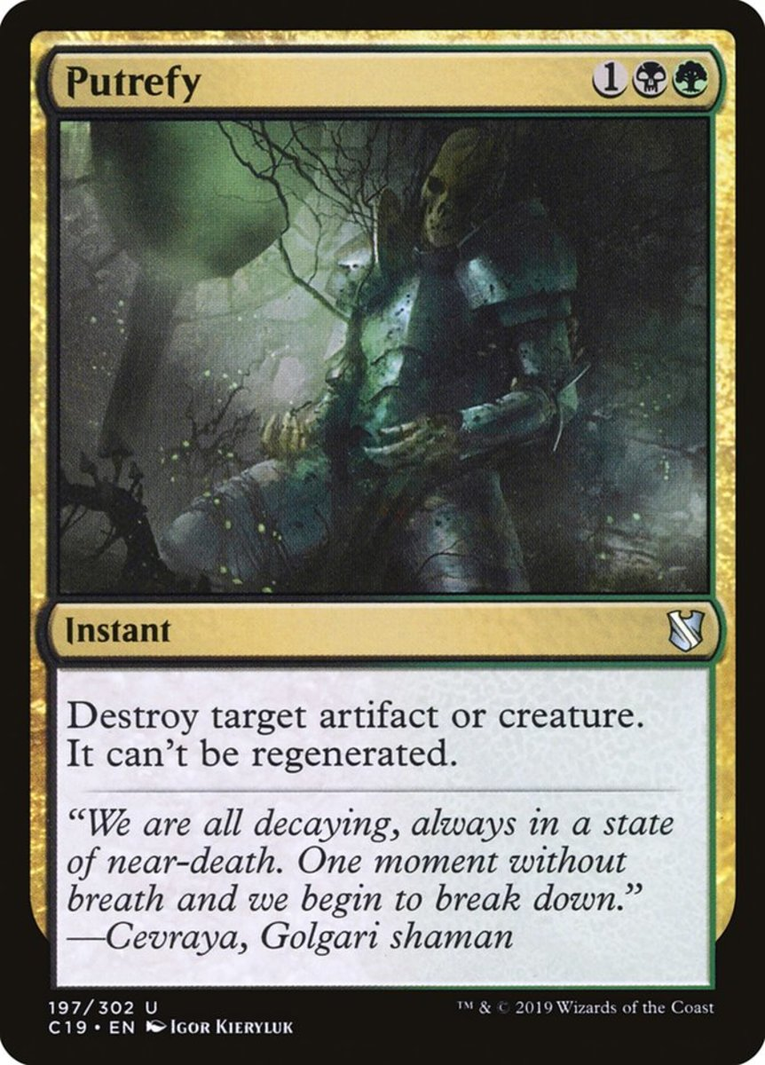 Top 10 Anti-Regenerate Removals in Magic: The Gathering