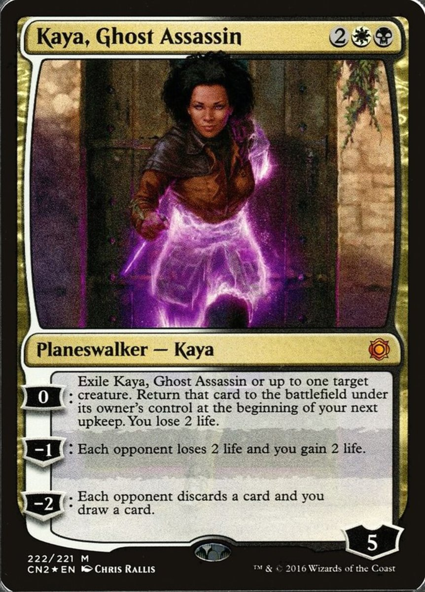 Kaya, Ghost Assassin mtg