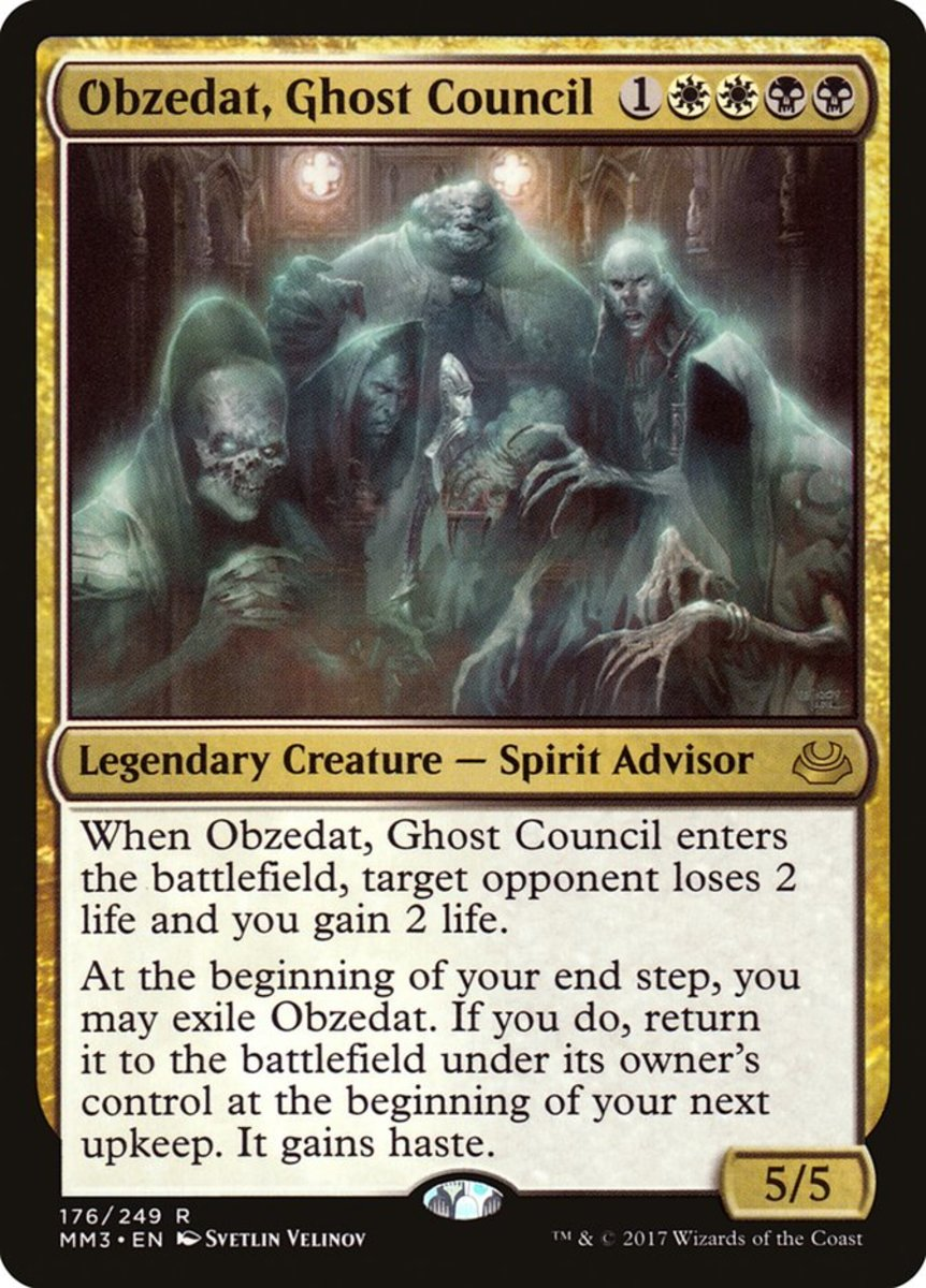 Obzedat, Ghost Council mtg