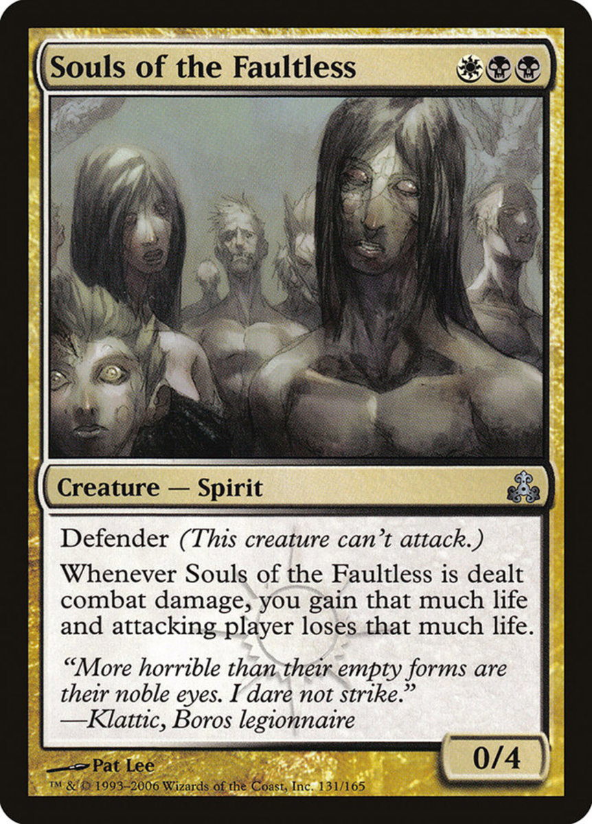 Souls of the Faultless mtg