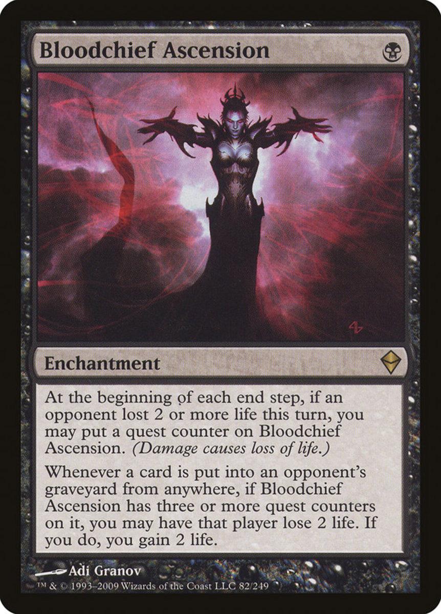 Bloodchief Ascension mtg