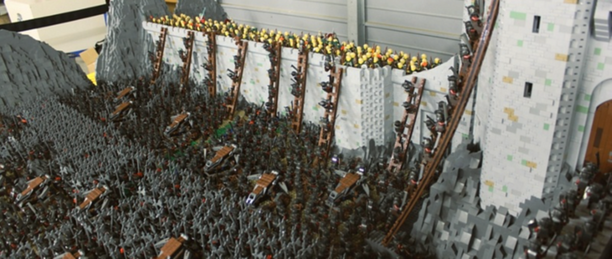 Lord of the Bricks: Battle of Helm's Deep